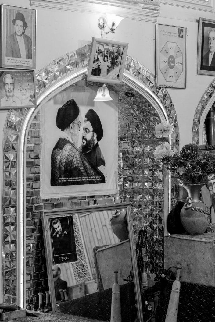 Picture of Shia religious leaders, Tehran