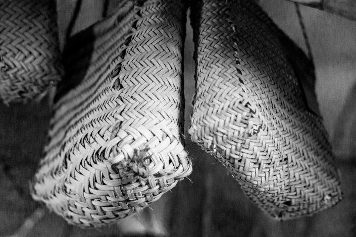 Baskets for sale, handicraft fair, Tehran