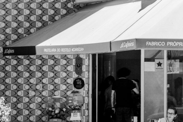 Lisbon neighborhood café