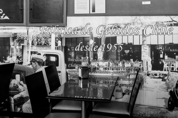 1955 Ice cream parlor Lisbon, Portugal