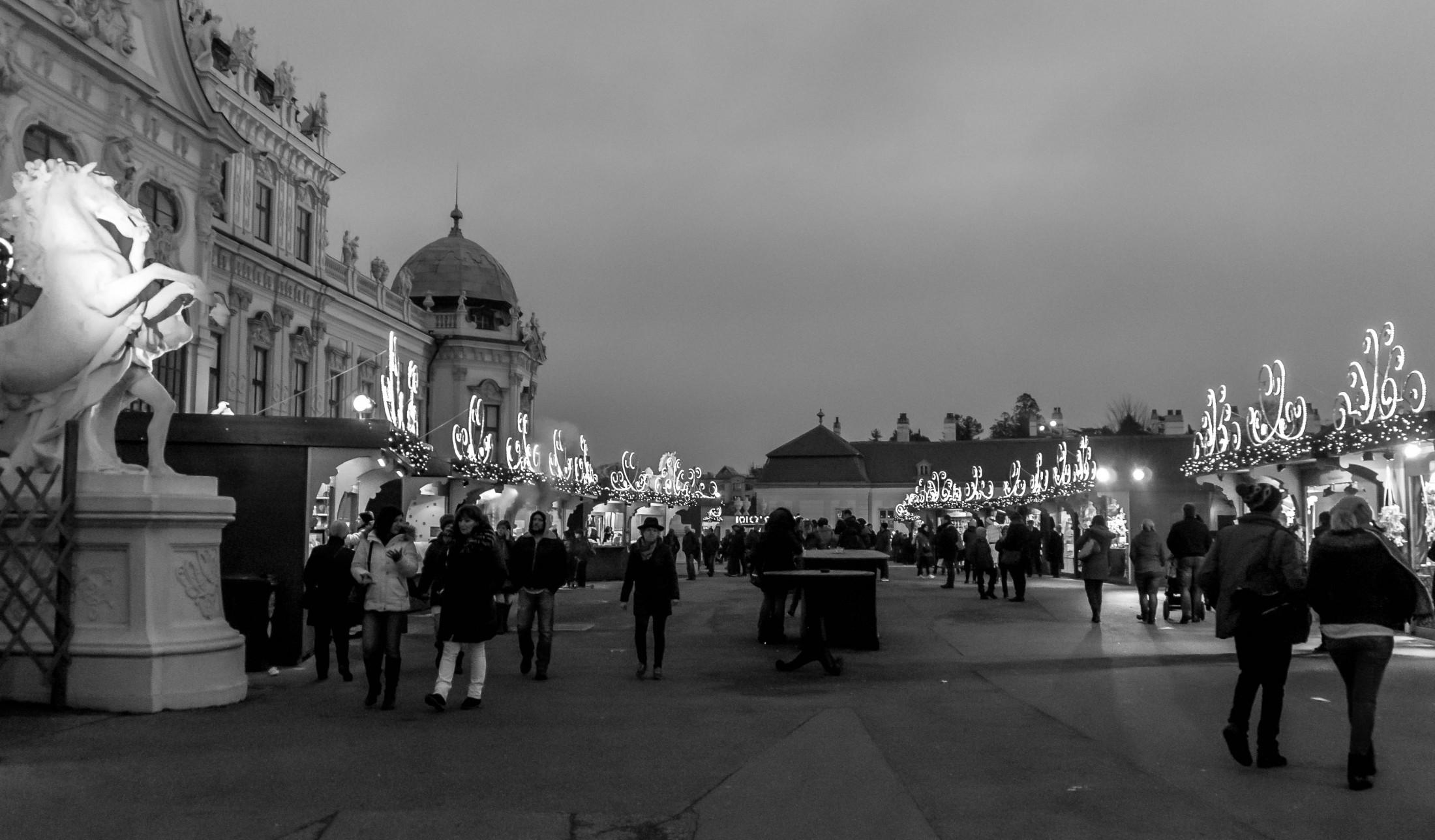 Belvedere Christmas market