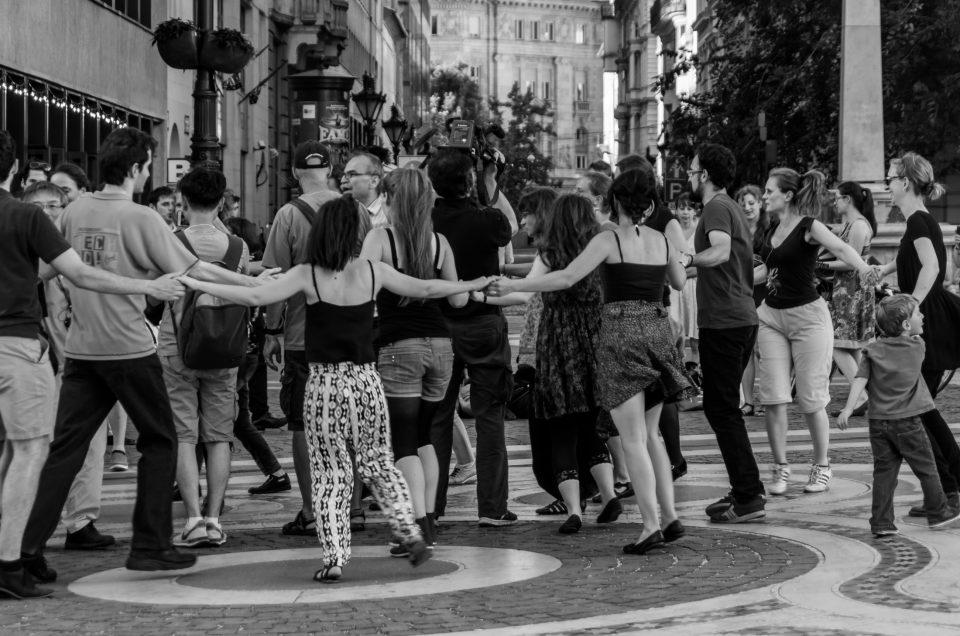 Budapeste street dancing