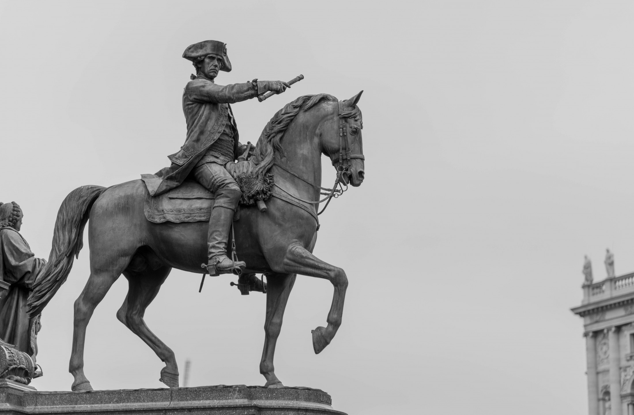 Statue of a cavalier