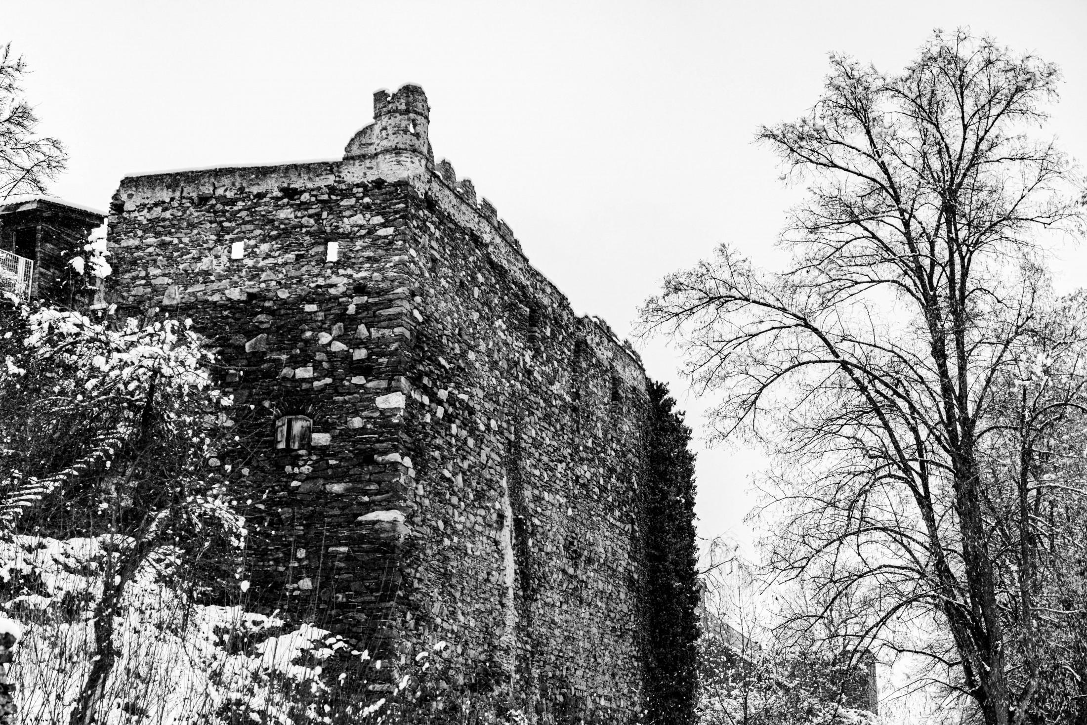 Medieval walls of Zwettl