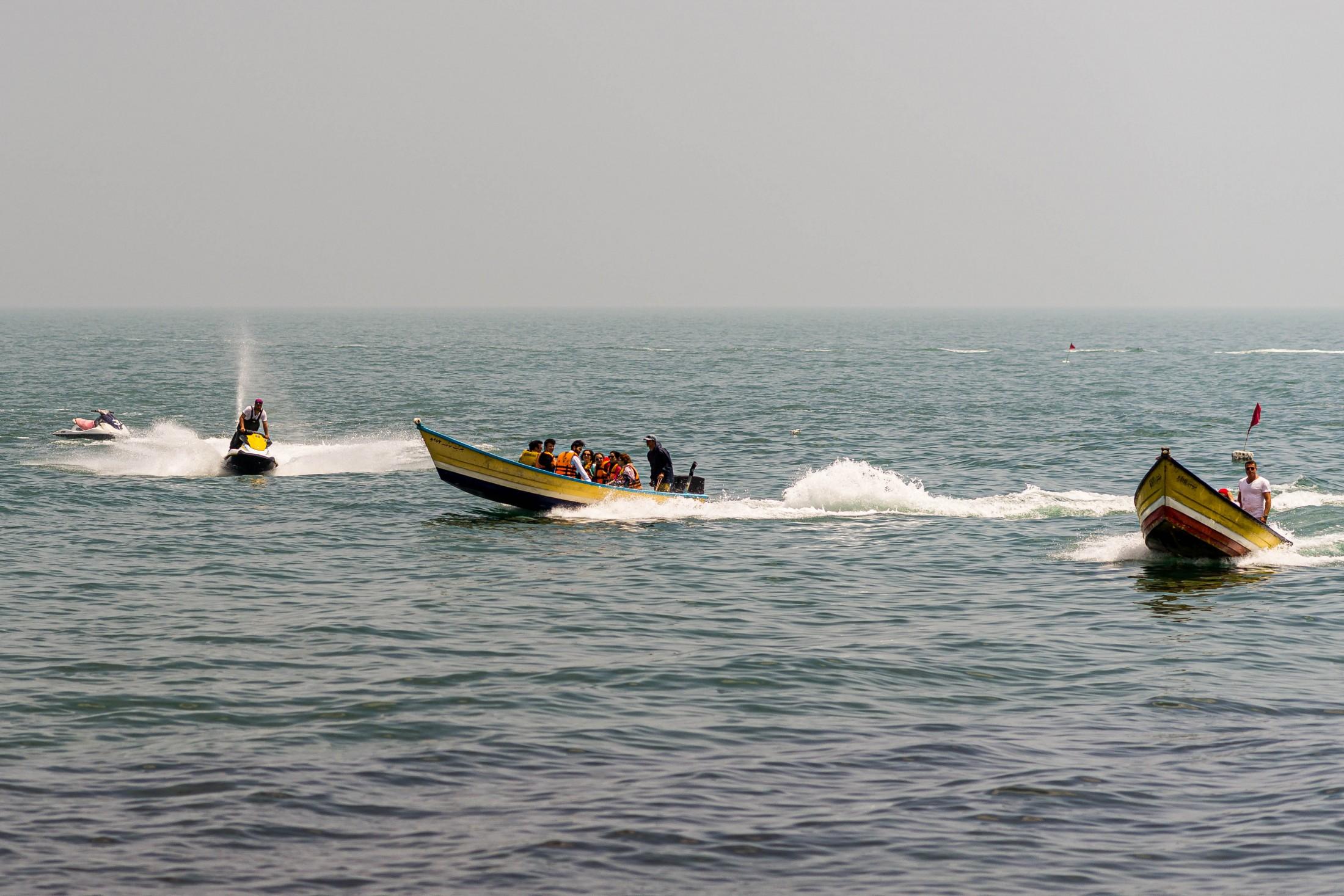 Flowing inspiration - Caspian Sea